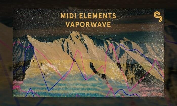 Sample Magic MIDI Elements Vaporwave Drums