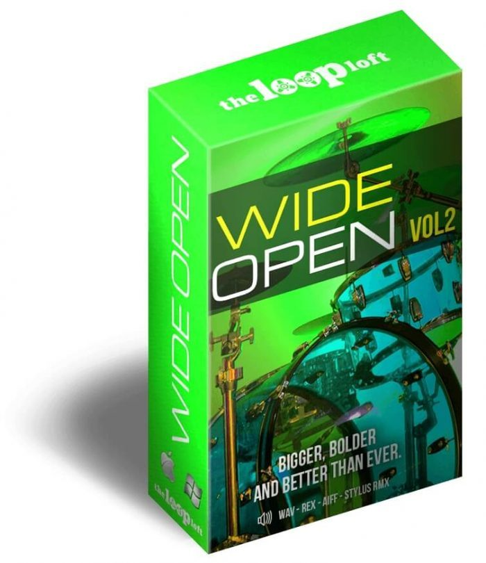 The Loop Loft Wide Open Drums Vol 2