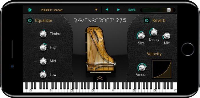 UVI Ravenscroft 275 iPhone