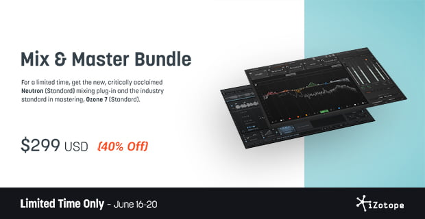 Izotope deals : Cloudscape coupon