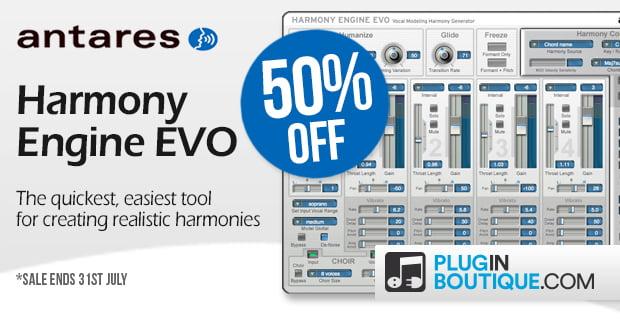 Antares Harmony Engine EVO 50 off sale