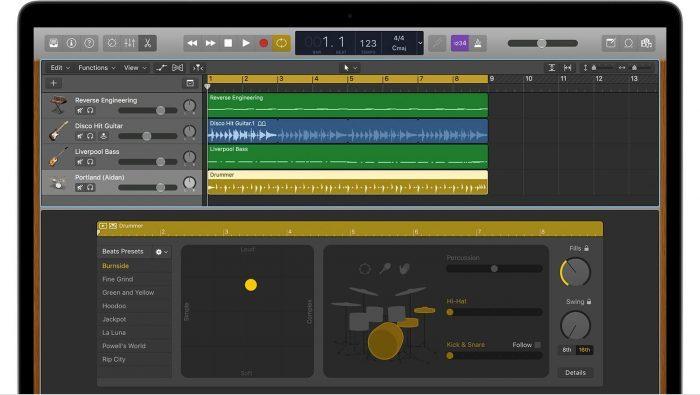 Apple Logic Pro 10.3.2 Drummer