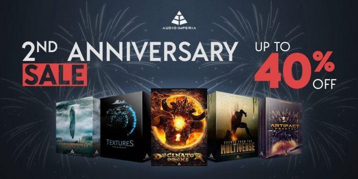 Audio Imperia 2nd Anniversary Sale