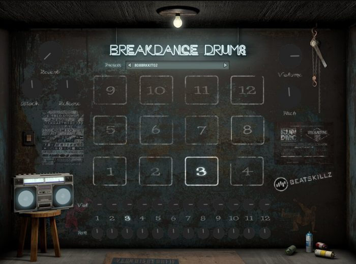Beatskillz Breakdance Drums
