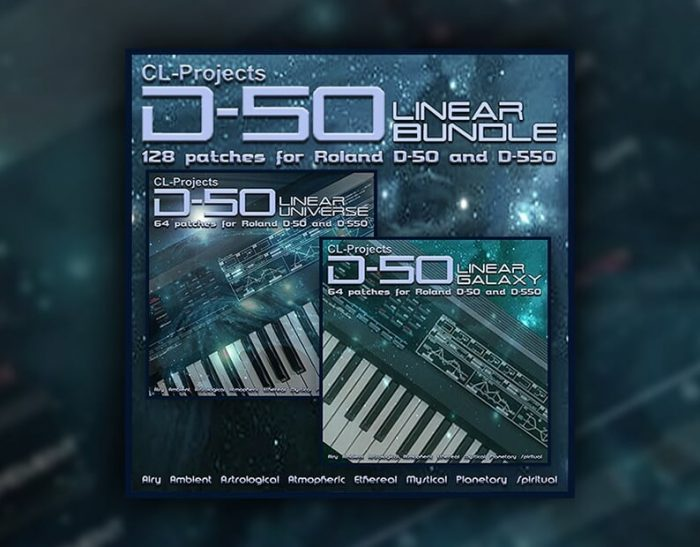 CL Projects Linear Bundle for Roland D 50 soft synth