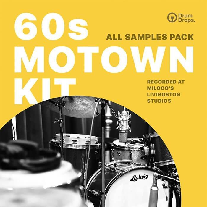 DrumDrops 60s Motown Kit All Samples Pack