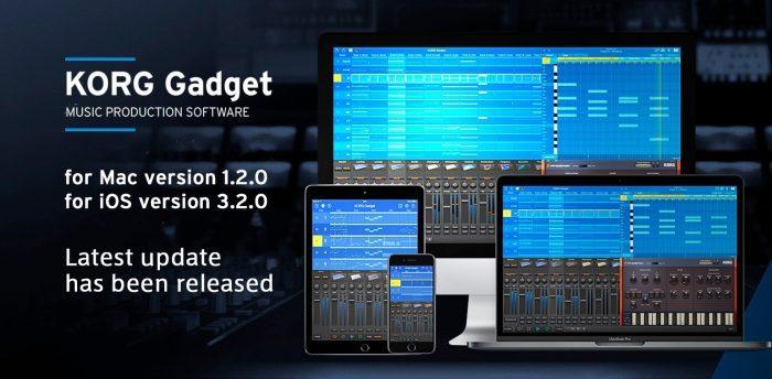 Korg Gadget update