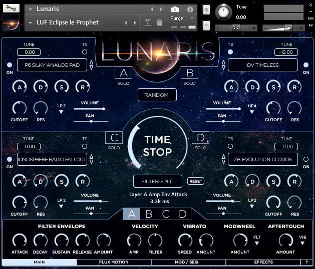 Luftrum Lunaris Pads screen