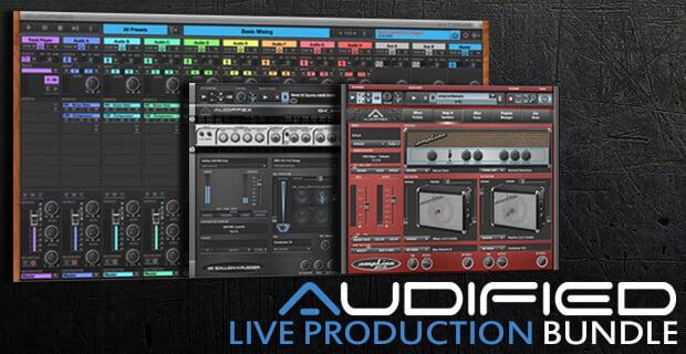 PIB Audified Live Production Bundle