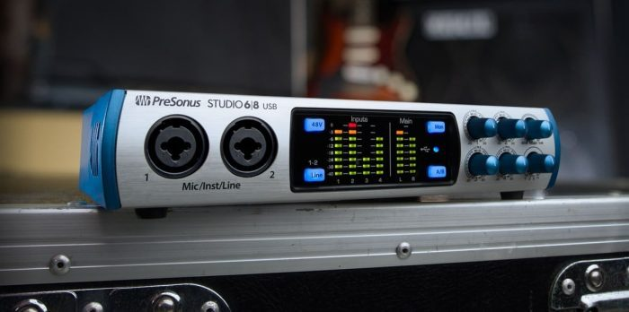 PreSonus Studio 68 audio interface