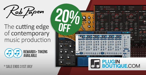 Rob Papen 20 year anniversary sale