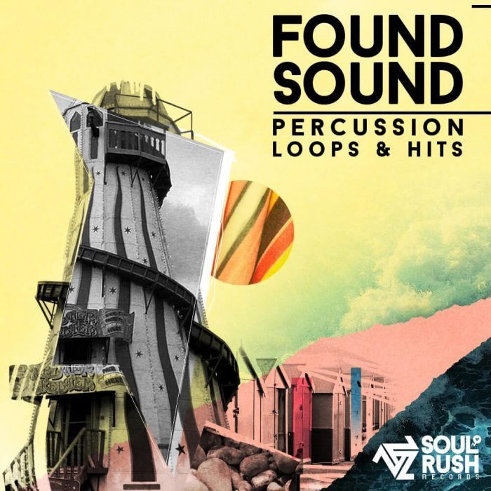 Soul Rush Records Found Sound Percussion Loops & Hits Vol 2