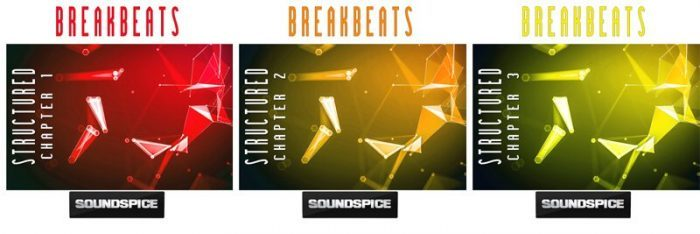 SoundSpice Breakbeats Structured Trilogy