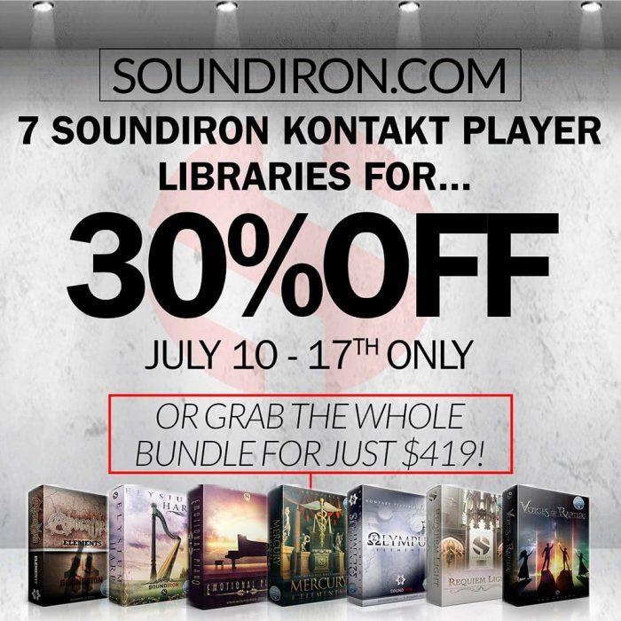 Soundiron Kontakt Player Summer Sale