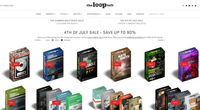 The Loop Loft 4th of July Sale
