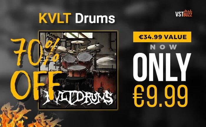 VST Buzz KVLT Drums