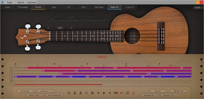 Ample Sound Ample Ethno Ukulele Riffer screen