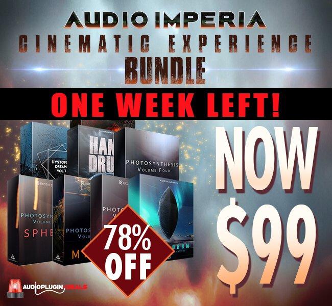 Audio Plugin Deals Audio Imperia week