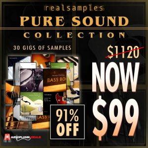 Audio Plugin Deals Realsamples