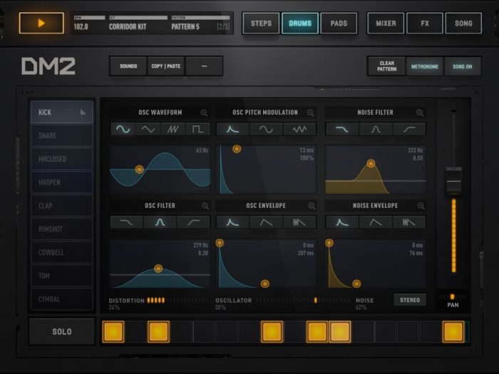 Audionomy DM2 drums