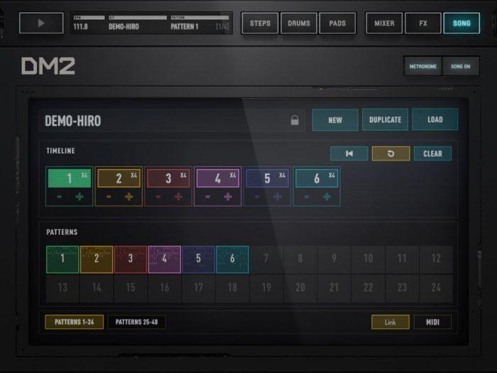 Audionomy DM2 songs
