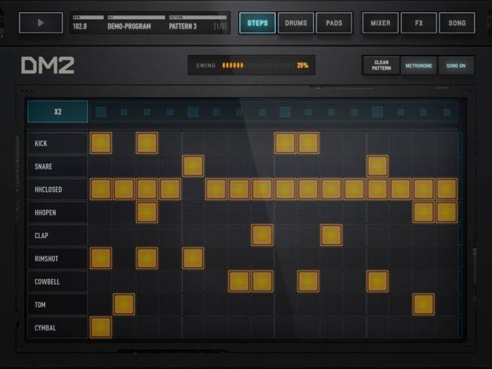 Audionomy DM2 steps