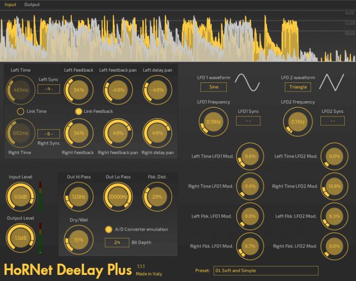 HoRNet DeeLay Plus 1.1.0