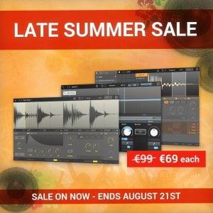 New Sonic Arts Summer Sale