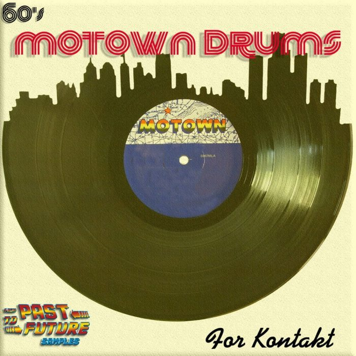 Past To Future Samples 60s Motown Drums for Kontakt