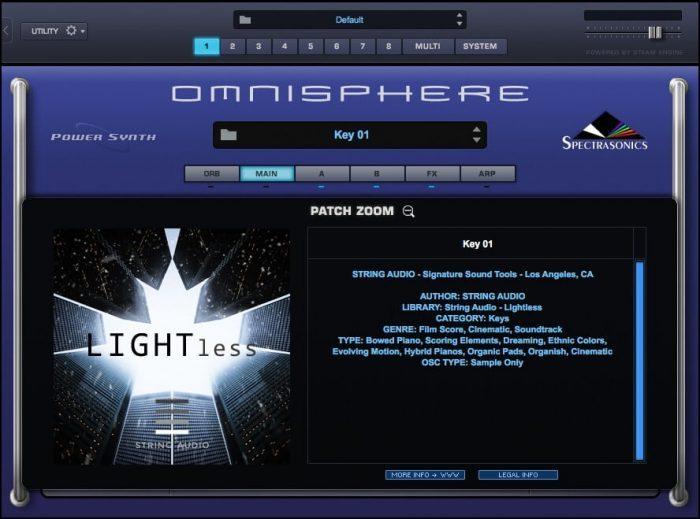 String Audio LIGHTless for Omnisphere 2