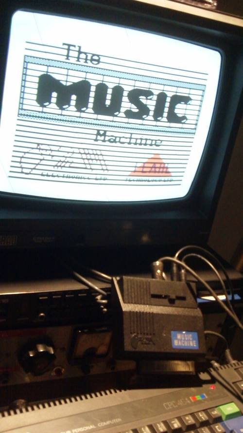 Synth Magic Amstrad CPC 464 Ram Music Machine Drum samples