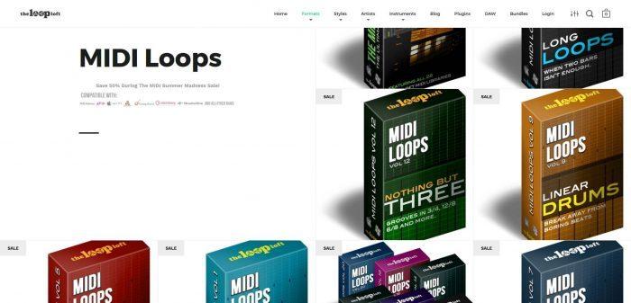 The Loop Loft MIDI Madness Sale packs