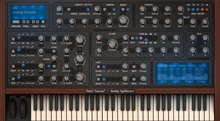 Tone2 Saurus 2.5