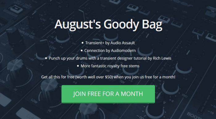 Track Spark August Goody Bag