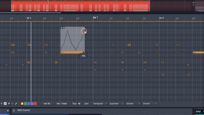 Tracktion Waveform MPE Editor