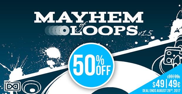UVI Mayhem of Loops sale