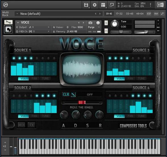 VST Buzz Composer Tools ABC Bundle Voce