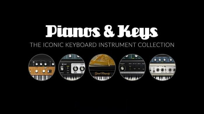 Waves Audio Pianos & Keys Bundle