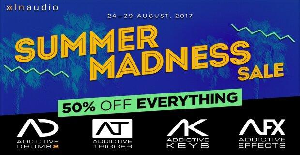 XLN Audio Summer Madness Sale 50