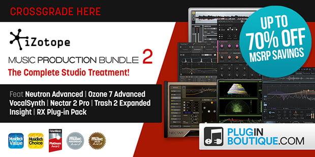 iZotope Music Production Bundle 2 sale