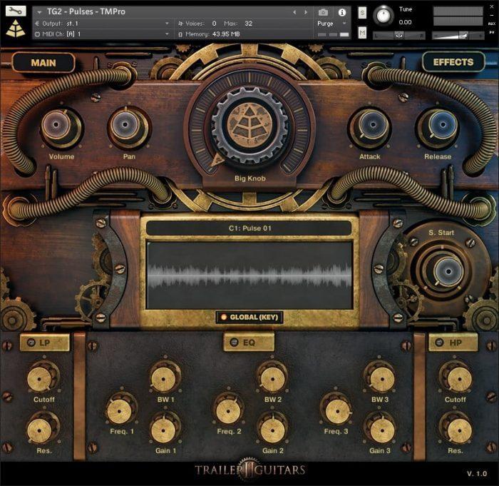 Audio Imperia Trailer Guitars 2 GUI