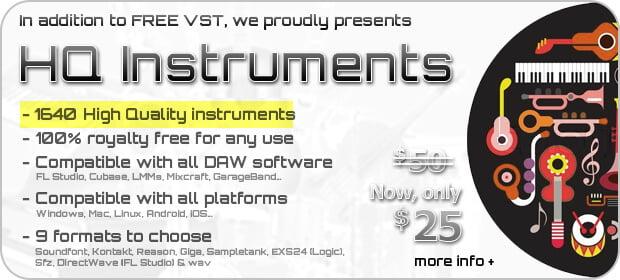 DSK Music HQ instruments