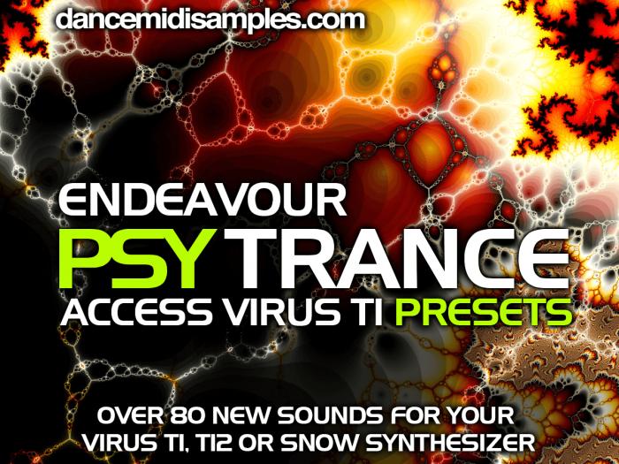 Endeavour Psytrance for Access Virus TI
