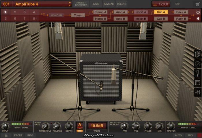 IK Multimedia Ampeg SVX 2 booth B 15N 115