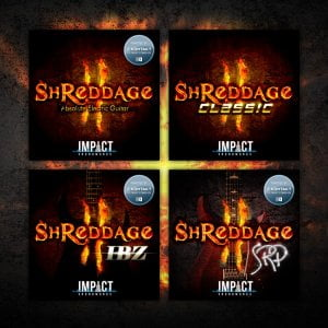 Impact Soundworks shreds SHREDDAGE bundle pricing in association with Audio Plugin Deals