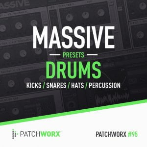 Loopmasters Patchworx Massive Drums by ReZone