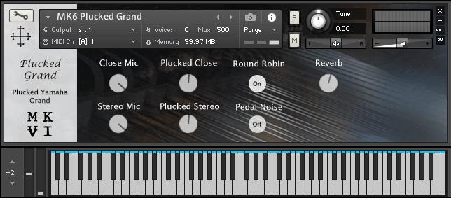 MkVI Audio Plucked Grand