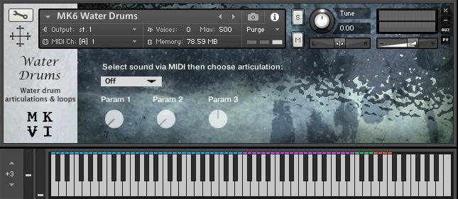MkVI Audio Water Drums