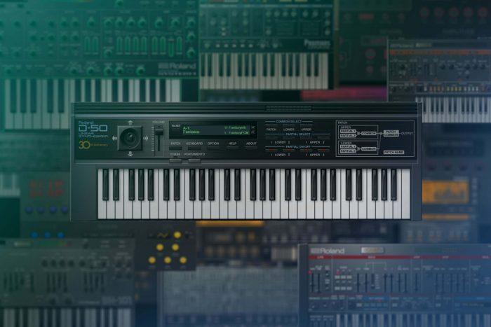Roland Cloud D-50 Virtual Instrument