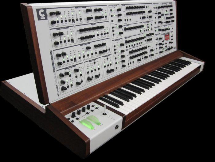 Schmidt Eightvoice Analog Synthesizer white
